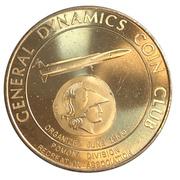 Medal - General Dynamics Coin Club – avers