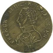 Jeton - Friedrich Wilhelm III – avers