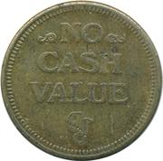 Jeton de jeu (No Cash Value) – avers