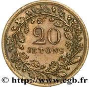 20 Jetons - La Colonne Vendôme – revers