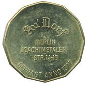 0.5 Joachimstaler - Ku-Dorf (Berlin) – avers