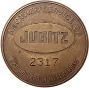 2 Dollars - Jubitz Truck Stop (Portland, Oregon) – revers