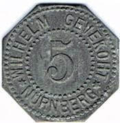 5 pfennig Wilhelm Gevekoht - Nürnberg – avers