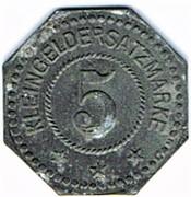 5 pfennig Wilhelm Gevekoht - Nürnberg – revers