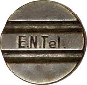 Jeton de téléphone - E.N.Tel. (cadran à 3 lignes) – avers