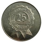 Jeton - Intercontinental Packers 25th Anniversary – avers