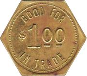 1 Dollar- N.C.O. Mess (Offutt Air Force Base, Nebraska) – revers