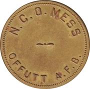 1 Dollar - N.C.O. Mess (Offutt Air Force Base, Nebraska) – avers