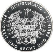 Token - Deutschland (Germany at the Beijing Olympic Games) – revers