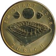 Token - UEFA Euro 2008 (Zürich) – avers