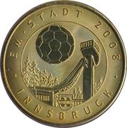 Token - UEFA Euro 2008 (Innsbruck) – avers