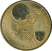 Token - UEFA Euro 2008 (Switzerland) – avers