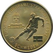 Token - UEFA Euro 2008 (Sweden) – avers