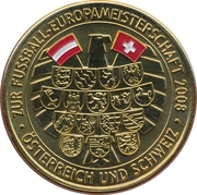 Token - UEFA Euro 2008 (Bern) – revers