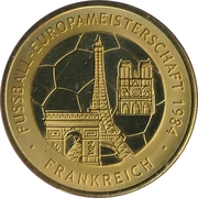 Token - UEFA Euro 2008 (France) – avers