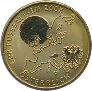 Token - UEFA Euro 2008 (Austria) – avers