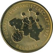 Token - UEFA Euro 2008 (Belgium) – avers