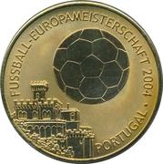 Token - UEFA Euro 2008 (Portugal) – avers