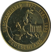 Token - UEFA Euro 2008 (Germany) – avers