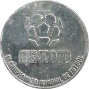 Jeton -1970 FIFA World Cup (Brasil) – revers