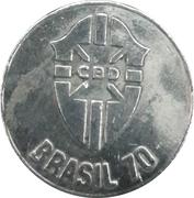Jeton -1970 FIFA World Cup (Brasil) – avers