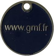 Jeton de chariot - GMF – revers