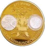 Médaille - 475 ans de l'Orchestre du Gewandhaus de Leipzig – avers