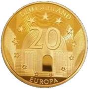 Médaille - 475 ans de l'Orchestre du Gewandhaus de Leipzig – revers