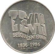 Jeton - Texas Sesquicentennial – avers