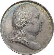 Jeton - Chambre de commerce de Bordeaux - Louis XVIII – avers
