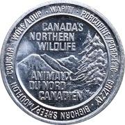 Jeton - Canada's Northern Wildlife (Cougar) – avers