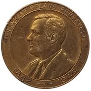 Jeton présidentiel - Franklin Delano Roosevelt - International Monetary Conference (Savannah, Georgia) – avers