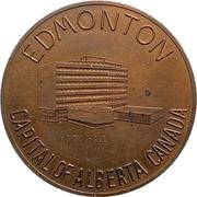 Jeton - Edmonton, Alberta (Canada's Industrial Frontier) – avers