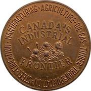 Jeton - Edmonton, Alberta (Canada's Industrial Frontier) – revers