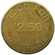 2½ dollars - Monte's (Marion, Oregon) – revers