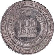 Jeton - 100 Jahre Lambarene – avers