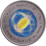 Jeton - World Money Fair 2011 (Bayerisches Hauptmunzamt) – avers