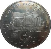 1995 - 20 ECUS de POIX DE PICARDIE – revers