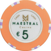 5 Euro - Maestral Casino (Przno) – revers