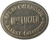 Bon pour une danse - Maison Lucien - Bal de l'Hermitage - Alfort-Charenton [94] – avers