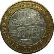 5 écu de la foire européenne de Strasbourg [67] – avers