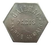 Bon pour une danse - Gailhac - Paris 3ème [75] – avers