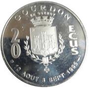 20 ECUS de Gourdon en Quercy – revers