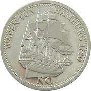 Médaille - Wapen von Hamburg – avers