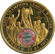 Jeton - FC Bayern Munchen - UEFA Champions League Winner – avers