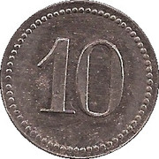 10 pfennig - Emmendingen (Spinnerei Ramie) – revers