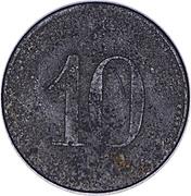 10 Pfennig (Siemens-Schuckert) – revers