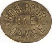 Bon pour une danse - Maison Attenti - Bal des 2 colonnes - Boulogne-Billancourt [92] – revers
