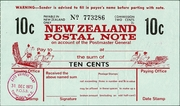 10 Cents - Postal Note – avers