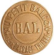 Bal au Petit Balcon - Maison Jacques - – avers